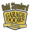 Gold Standard Garage Doors and More Logo